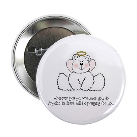 10 pack of our Angel Bear pins Heal 2.25 Button 10 pack by CafePress