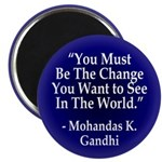 You Must Be the Change Magnet (10 pack)