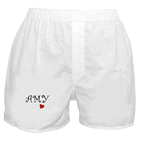 - Amy Names Boxer Shorts by CafePress