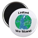 Earth: United We Stand Magnet