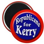 Republicans for Kerry Magnet (100 pack)