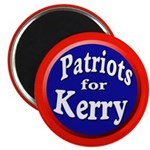 Patriots for Kerry Magnet (100 pack)