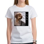 Wirehaired Pointing Griffon Women's T-Shirt