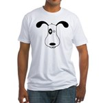 A Dog Named Spot Fitted T-Shirt