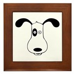 A Dog Named Spot Framed Tile