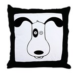 A Dog Named Spot Throw Pillow