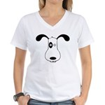 A Dog Named Spot Women's V-Neck T-Shirt