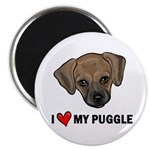 "I Heart My Puggle 2.25"" Magnet (100 pack)"
