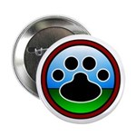 "Paw Design 01 2.25"" Button (10 pack)"