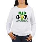 Mad Chick 1 Cerebral P Women's Long Sleeve T-Shirt