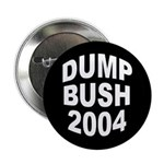 Black Dump Bush 2004 Button (10 pack)