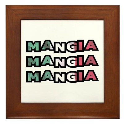 Mangia Mangia Mangia Kitchen Sign