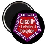 Culpability and Deception Magnet (10 pack)