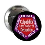 Culpability, Deception Button (100 pack)