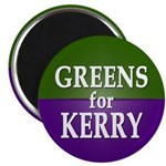Greens for Kerry Magnet (100 pack)