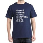 Passover Heroes Names T-Shirt