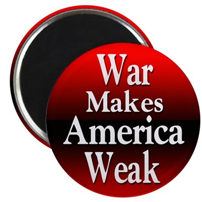 War Makes America Weak