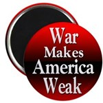 10 Round Discount Anti-War Magnets