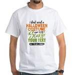 Scary Costume White T-Shirt