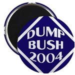 Blue Dump Bush 2004 Magnet