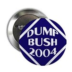 Dump Bush 2004 Button
