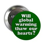 Will Global Warming Thaw Button (10 pack)