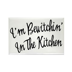 Bewitchin' In The Kitchen Rectangle Magnet