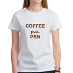 Coffee p.o. PRN Women's T-Shirt