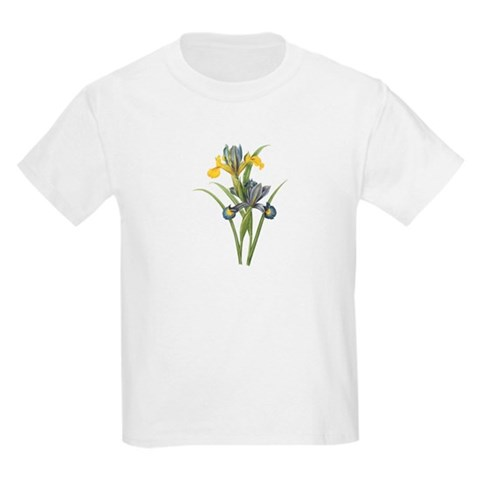 Vintage Iris 2 Christmas gift xmas gift birthday gift Kids Light T-Shirt by CafePress