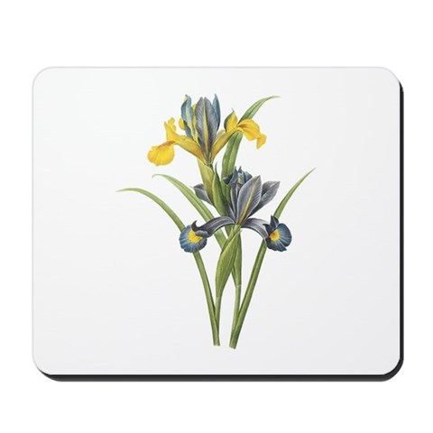 Vintage Iris 2 Christmas gift xmas gift birthday gift Mousepad by CafePress