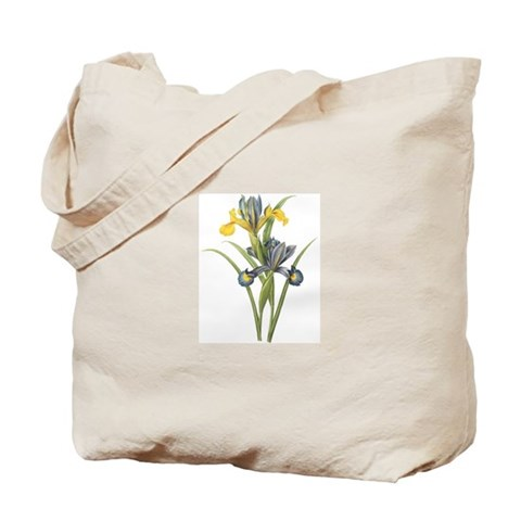Vintage Iris 2 Christmas gift xmas gift birthday gift Tote Bag by CafePress
