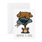 Gimmie A Hug! Greeting Cards (Pk of 10)