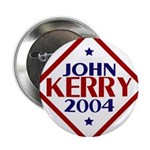 John Kerry 2004 Button