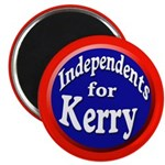Independents for Kerry Magnets (100 pack)