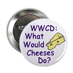 WWCD: What Would Cheeses Do? Button