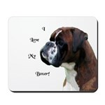 I Love My Boxer Mousepad