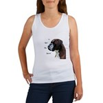 I Love My Boxer Women's Tank Top