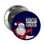 Santa Says Dump Bush Button