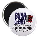 Why Change Horsemen? Magnet (10 pack)