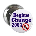 Regime Change 2004 Button (100 pack)