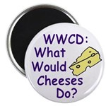 What Would Cheeses Do Magnet (100 pack)