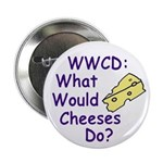 What Would Cheeses Do? Button (10 pack)
