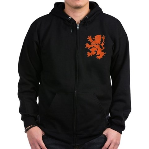 Product Image of Netherlands Lion Zip Hoodie