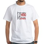 Parkinsons HeavenNeededHero1 White T-Shirt
