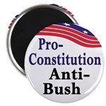 Pro-Constitution, Anti-Bush Magnet