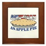 American As Apple Pie Plaque