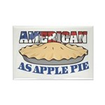 American As Apple Pie Rectangle Magnet