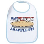 American As Apple Pie Bib