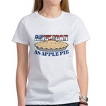 American As Apple Pie Women's T-Shirt
