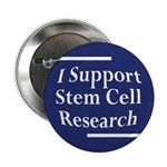 I Support Stem Cell Research Button